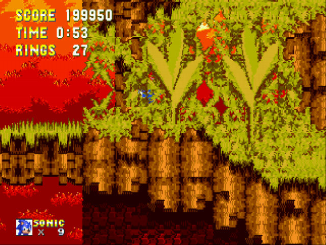 Sonic 3 Complete - Level  - Camo Sonic - User Screenshot